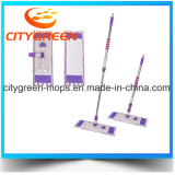 Mop веревочки Microfiber пола интереса мраморный