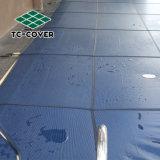 Famosa marca de moda Desgined malha verde ou azul escuro da tampa do pool de Segurança para 40X20 spa e piscina exterior no preço mais baixo