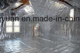 Bénéficiant d'aluminium du tissu Sisalation pour mur d'enrubannage de la chambre d'enrubannage