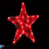 Décoration de Noël de plein air Motif de la rue lumière à LED