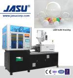 Macchina verticale dello stampaggio mediante soffiatura dell'iniezione della sfera del coperchio della lampadina del LED