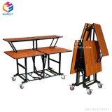 Mesa plegable ligero laminado opcional de 4 mesas de conferencias/ 6/8 pie
