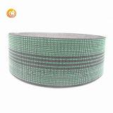 Kundenspezifisches Polyester-Material-Jacquardwebstuhl-Material-Sofa-Gummiband-gewebtes Material