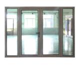 Дверь алюминиевого двойника рамки французская с двойным стеклом