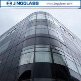 Черный тонированный Temepred защитное стекло строительство здание из стекла