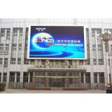 Schermo di visualizzazione anteriore del LED di pubblicità esterna di colore completo P4 di servizio