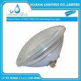 Color de cristal IP68 PAR56 que cambia la luz ligera de la piscina del LED