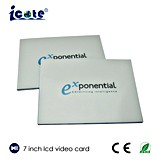 TFT videogruß-Karten, LED-Gruß-Karte für Geschenk