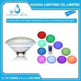 Vidro de protecção IP68 Par56 LED de luz da mudança de cor da luz interior
