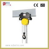 2 Your Chain Hoist with Monorail Trolley by Hand