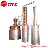 Distillerie de cuivre rouge de rhum d'eau-de-vie fine de whiskey