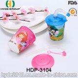 BPA Vrije Plastic pp die Kop met Stro voor Jonge geitjes drinken