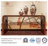 Hotel-Möbel mit hölzernem dekorativem Tisch für Systemkonsole (YB-F-2838)