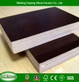 Contre-plaqué élevé de construction de garantie avec le film imperméable à l'eau et noir/Brown