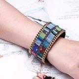 Böhmische Art-Legierungs-Mehrfarbenfrauen-Armband-Form-Schmucksachen