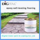Piso de hormigón de recubrimiento de pintura epoxy pintura Piso Precio