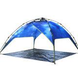 Tente d'homme de la vente en gros 4, tente campante de famille de polyester