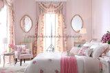 Quarto Cama de tecido clássico moderno conjunto de cama de couro