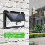省エネ34 LEDsの機密保護の動きセンサーの庭ライト太陽電池パネルランプ