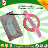 China-Lieferanten-gesundheitliche Serviette-Rohstoff-Fertigung-schnelles einfaches Band