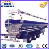 3 as 45cbm de Semi Aanhangwagen van de Vrachtwagen van de Tanker van de Brandstof van de Ruwe olie van de Legering van het aluminium