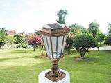 Indicatore luminoso solare dell'alberino dell'indicatore luminoso solare della colonna