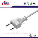Zinke Wechselstrom-Stecker-Kabel EU-2 für Laptop-Energie Chargerble