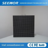 Venta caliente P6.66mm de alto brillo Pantalla LED de exterior con 640*640 mm de gabinete