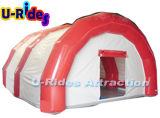 هواء قابل للنفخ عملاق بيضاء يختم يتزوّج خيمة لأنّ حزب