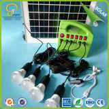 30W Sistema Solar portátil con bombilla LED