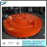 円形のMW5-150L/2の鋼鉄スクラップを持ち上げる高いTemperaturクレーン持ち上がる電磁石