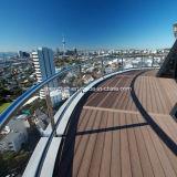 열대 지역에 있는 풍화 저항 옥외 Decking