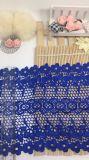 Mayorista de nuevo diseño de malla de nylon poliéster de bordado de encaje bordado de encaje netas de fresado de accesorios para prendas de vestir