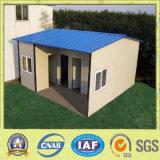 Kleines modulares Haus für temporäres Leben