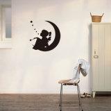 O bebê bonito do teste padrão da coruja dos desenhos animados da decoração Home removível do berçário da decoração caçoa etiquetas do decalque da parede do quarto