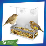 Gabbia di uccello acrilica libera speciale, gabbia del criceto dell'uccello del plexiglass di memoria