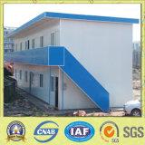 Casa prefabricada del edificio construida en sitio