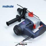 Makute 900W SDS elétrico de função tripla mais a broca de martelo giratória