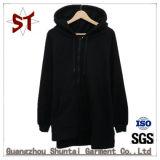 Customed beiläufige Form-mit Kapuze Mantel mit Reißverschluss