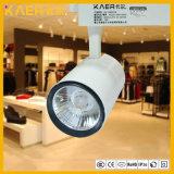 에너지 절약 12W 크리 사람 LED 궤도 빛 광고 방송 장소