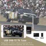 DVB-T2 le bâton de tuner tv du dongle DVB-T2 DVB-T de l'androïde le meilleur marché USB pour l'androïde téléphone l'USB micro