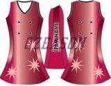 Платье Netball печатание самого нового способа 2015 изготовленный на заказ полное