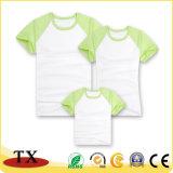 Color de corrector de manga larga y corta la camiseta de algodón