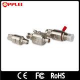 Protector de oleada coaxial del conector del estruendo de la comunicación del cable sin hilos de la antena