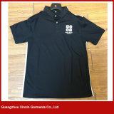 Teeshirts en bonne santé de golf de sport de polo de dri fait sur commande de broderie (P72)
