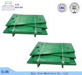 Placa superior de la quijada de Toogle de los recambios de la trituradora de quijada de Nordberg Metso C105 de la calidad