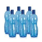 Moldeo por insuflación de aire comprimido plástico de la botella de la alta calidad con la cubierta