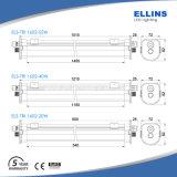 高品質IP67 40W 1.2m LEDの三証拠ライト5years保証