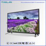 "Ultra laatst Slim H. 265 dvb-S2 TV Dled 39 ""Coaxiale Dubbele Tuner van HD Scart"