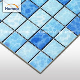 Дешевые Unglazed керамической мозаикой из фарфора плитка для бассейна